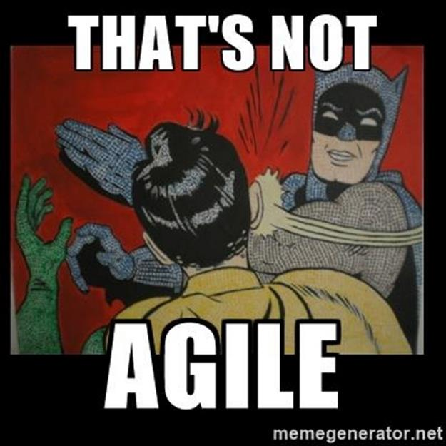"""That's Not Agile!"""