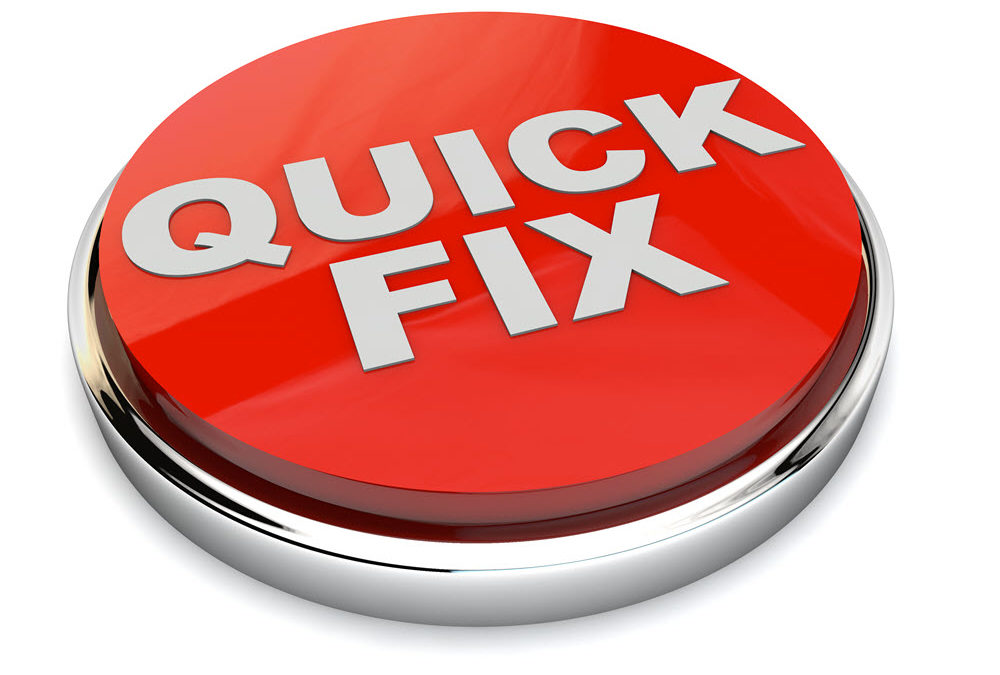 "Project management can't help with the ""quick fix"" syndrome"