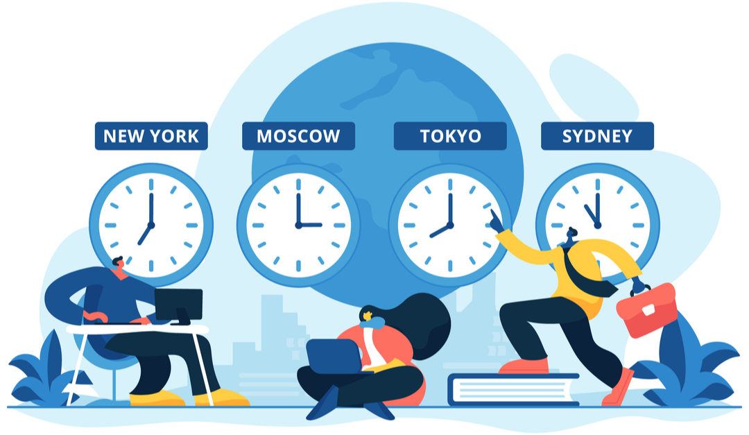 Managing Projects Across Multiple Time-zones – Part 1